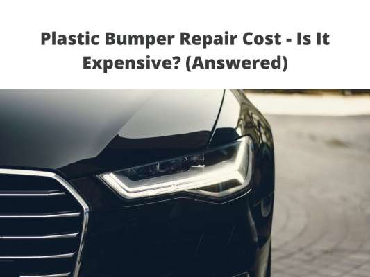 how much does Plastic Bumper Repair Cost